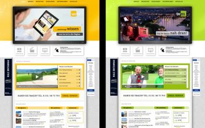 Fernsehsender in neuem Weblook