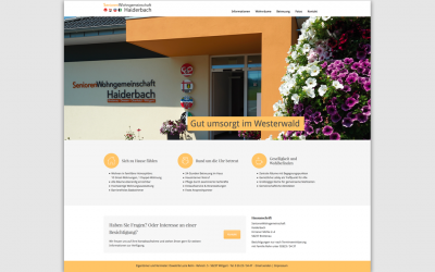 Homepage mobil barrierefrei