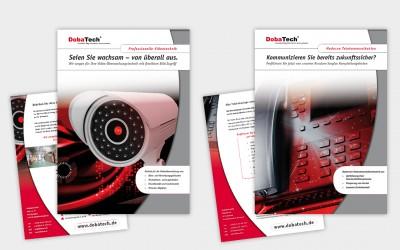 Flyergestaltung Produktinformation